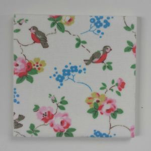 Ceramic Wall Tiles in Cath Kidston Birds & Roses 100mm 150mm